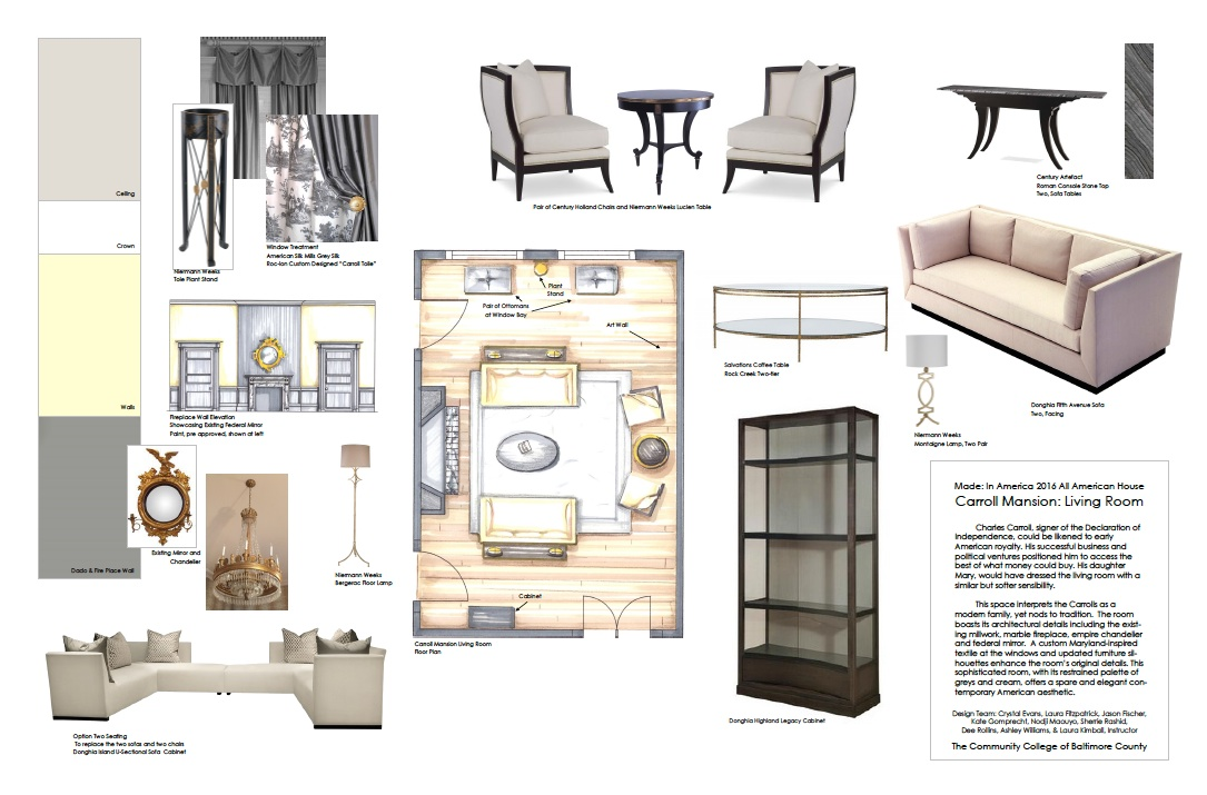 Ccbc interior design program the 2016 all american house for American style interior design
